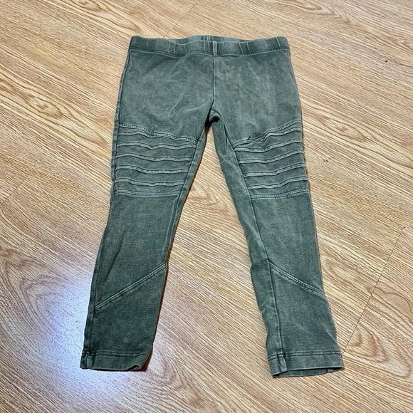 Tucker + Tate Moto Leggings, Green size 4